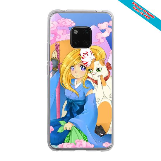 Coque Silicone iphone 5/5S/SE Papillon de nuit mandala