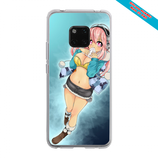 Coque silicone Huawei P40 Pro Ours mandala