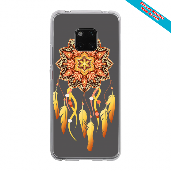 Coque silicone Huawei P40 Ours mandala