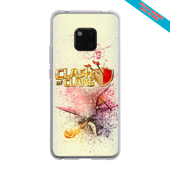Coque silicone Huawei P30 PRO Ours mandala