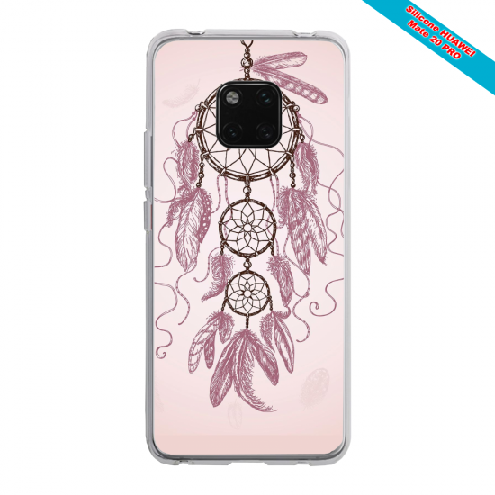 Coque silicone Huawei P30 Ours mandala