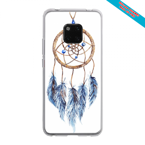 Coque silicone Huawei P20 PLUS Ours mandala