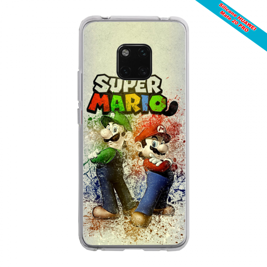 Coque silicone Huawei P20 LITE Ours mandala