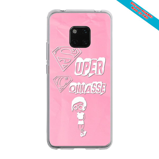 Coque silicone Huawei P20 Ours mandala