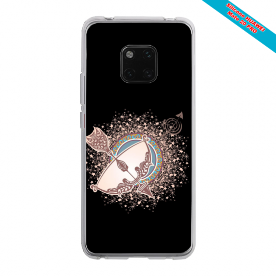 Coque silicone Huawei P10 Lite Ours mandala