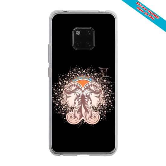Coque silicone Huawei P8 Ours mandala