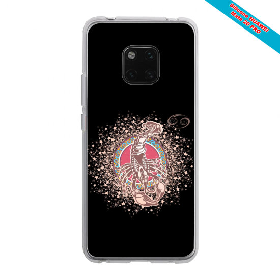 Coque silicone Huawei Mate 20 PRO Ours mandala