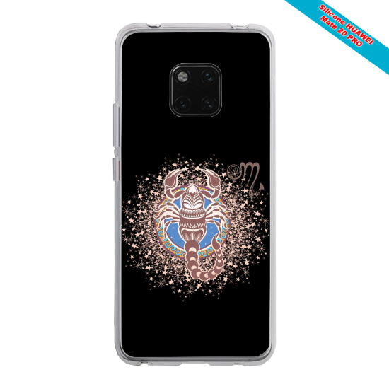 Coque silicone Huawei Mate 10 PRO Ours mandala