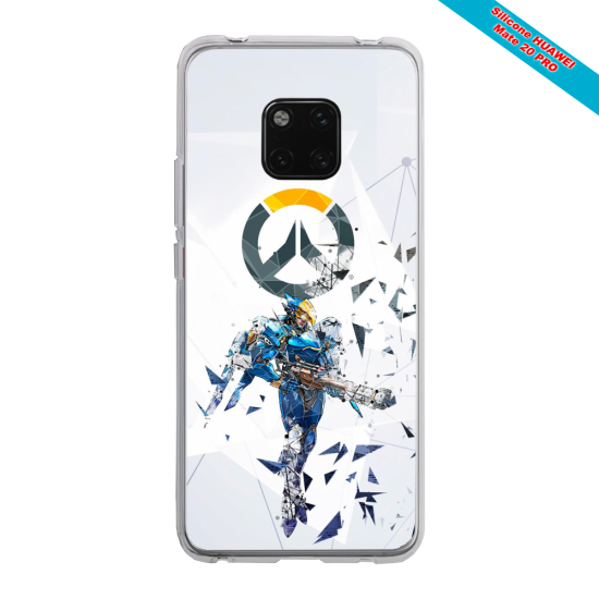 Coque silicone Iphone SE 2020 Ours mandala