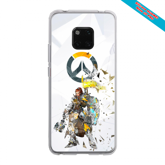 Coque silicone Iphone XR Verre Trempé Ours mandala