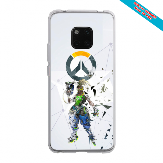Coque silicone Iphone XR Ours mandala