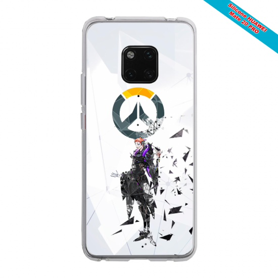 Coque silicone Iphone X/XS Ours mandala