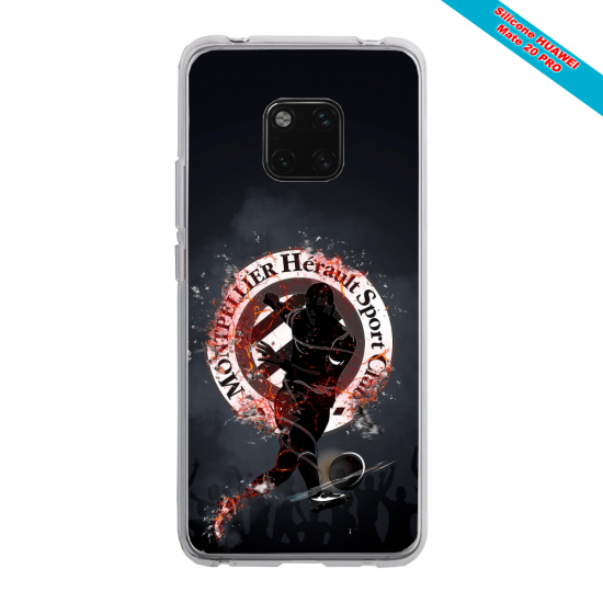 Coque silicone Huawei P30 Grizzly mandala
