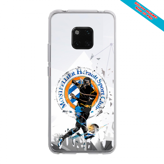 Coque silicone Huawei P20 PLUS Grizzly mandala