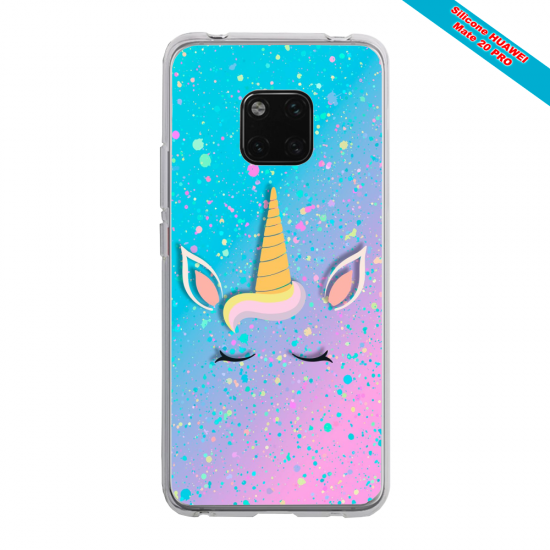 Coque silicone Huawei P20 LITE Grizzly mandala