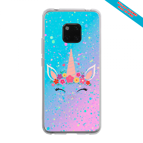 Coque silicone Huawei P20 Grizzly mandala