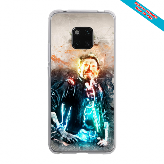 Coque silicone Huawei P8 Grizzly mandala