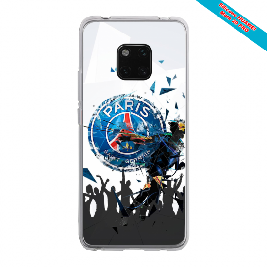 Coque silicone Huawei Mate 20 PRO Grizzly mandala