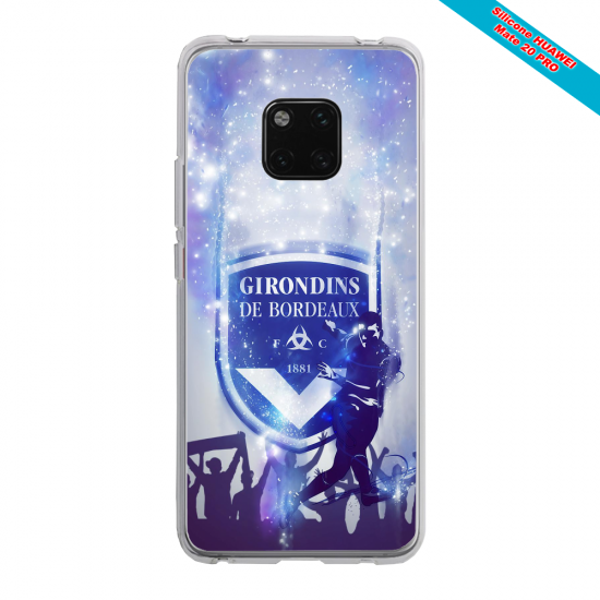 Coque silicone Iphone 11 Pro verre trempé Grizzly mandala