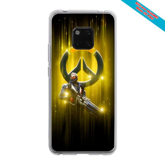 Coque Silicone Galaxy S7 EDGE Loup mandala