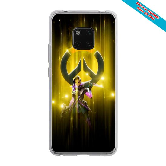 Coque Silicone Galaxy S7 Loup mandala