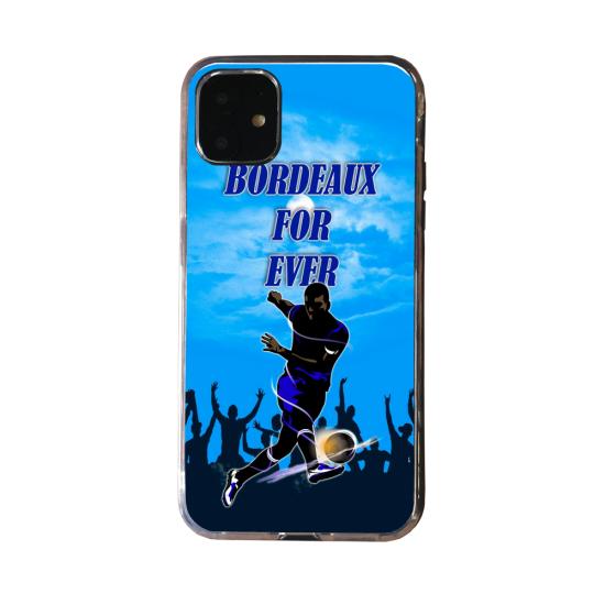 Coque silicone Iphone 12 PRO Loup mandala