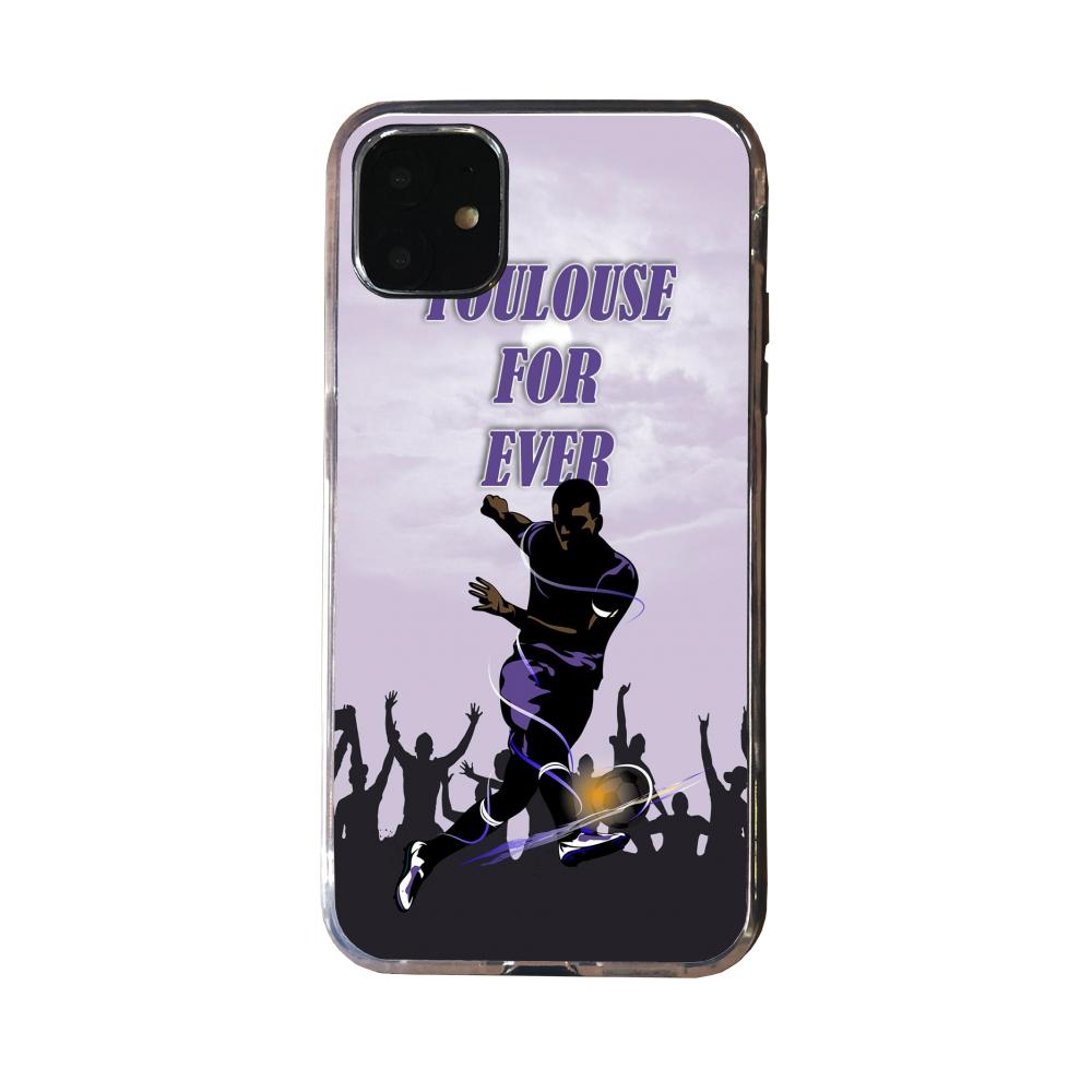 Coque silicone Iphone 12 Loup mandala