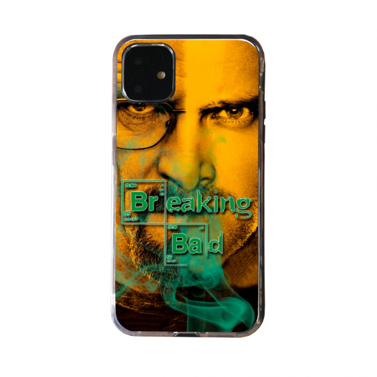 Coque silicone Iphone 6 PLUS Loup mandala