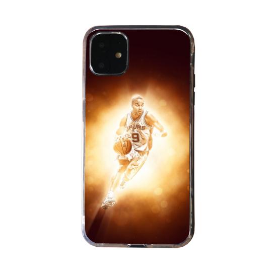 Coque Silicone iphone 5/5S/SE Loup mandala