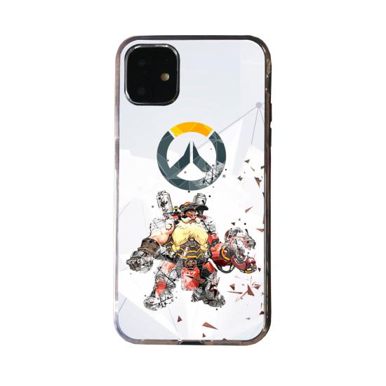 Coque Silicone Galaxy S20 verre trempé Fan d'Overwatch Zenyatta super hero