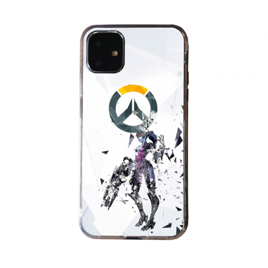 Coque Silicone Galaxy S20 verre trempé Fan d'Overwatch Zarya super hero