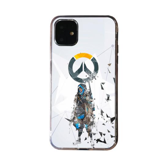 Coque Silicone Galaxy S20 verre trempé Fan d'Overwatch Winston super hero