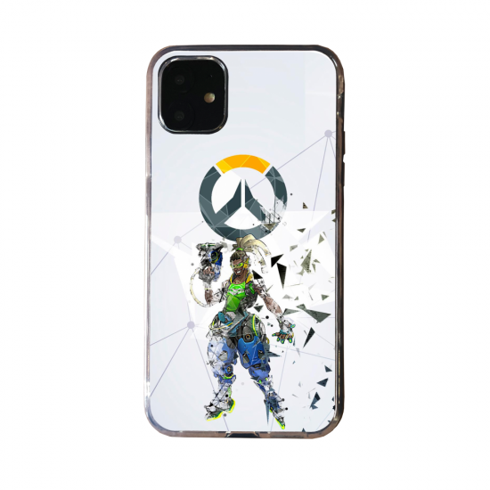 Coque Silicone Galaxy S20 verre trempé Fan d'Overwatch Torbjörn super hero