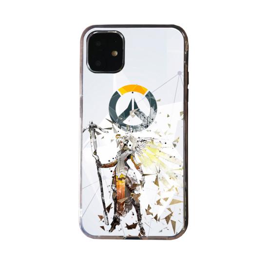 Coque Silicone Galaxy S20 verre trempé Fan d'Overwatch Symmetra super hero