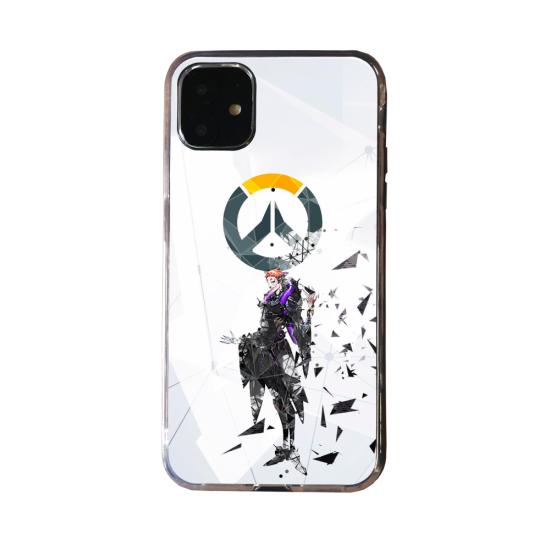 Coque Silicone Galaxy S20 verre trempé Fan d'Overwatch Sombra super hero