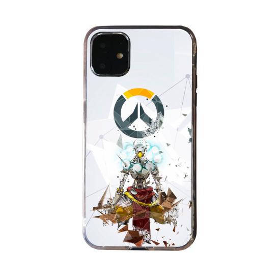 Coque Silicone Galaxy S20 verre trempé Fan d'Overwatch Soldat 76 super hero