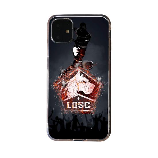 Coque Silicone Galaxy S20 verre trempé Fan d'Overwatch Pharah super hero