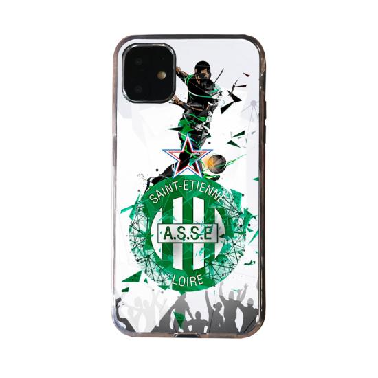 Coque Silicone Galaxy S20 verre trempé Fan d'Overwatch Genji super hero