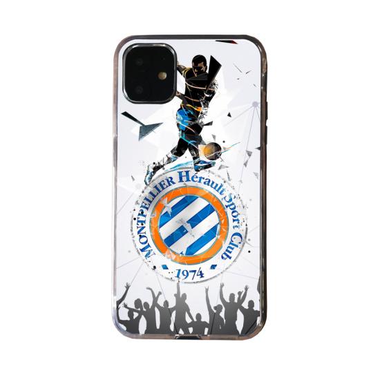 Coque Silicone Galaxy S20 verre trempé Fan d'Overwatch Chacal super hero