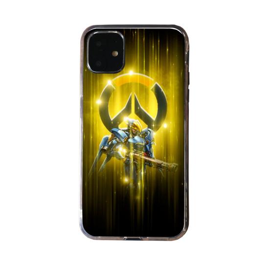 Coque silicone Huawei P40 PRO Fan d'Overwatch Zenyatta super hero
