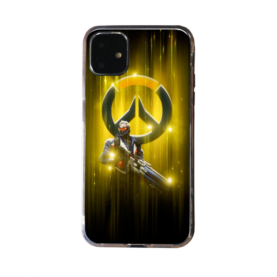 Coque silicone Huawei P40 PRO Fan d'Overwatch Tracer super hero