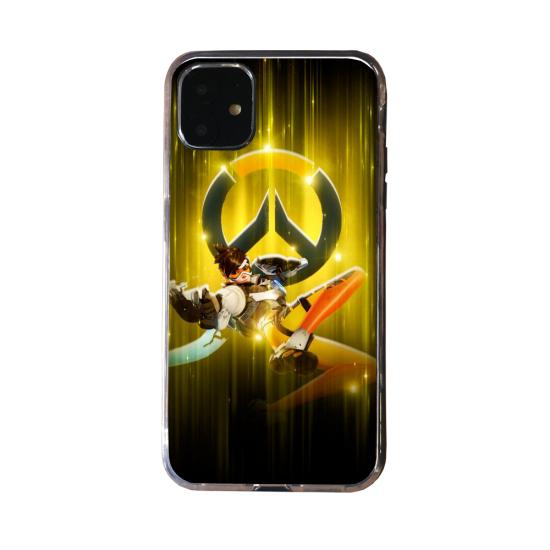 Coque silicone Huawei P40 PRO Fan d'Overwatch Soldat 76 super hero