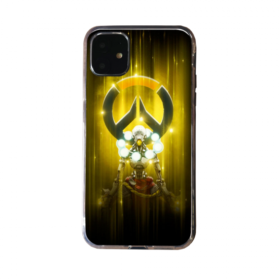 Coque silicone Huawei P40 PRO Fan d'Overwatch Pharah super hero