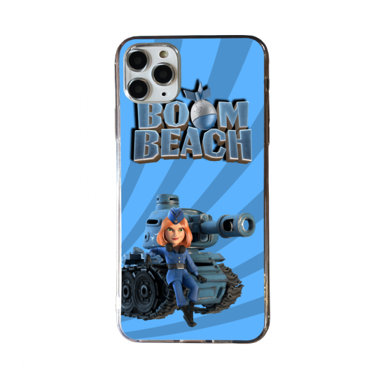 Coque silicone Huawei P40 PRO Fan d'Overwatch Bastion super hero