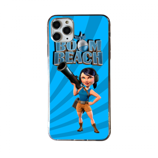 Coque silicone Huawei P40 PRO Fan d'Overwatch Baptiste super hero