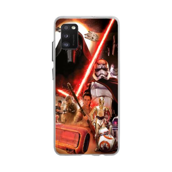 Coque silicone Huawei MATE 30 Hibiscus bleu