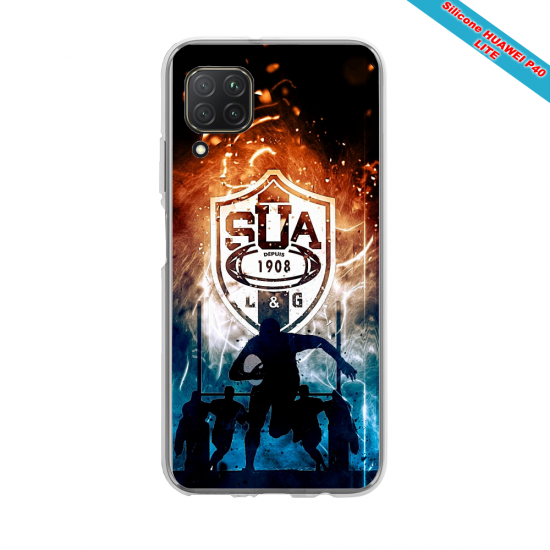 Coque silicone Huawei Mate 30 LITE Grizzly mandala