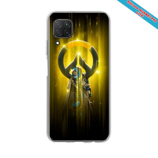 Coque silicone Huawei MATE 30 LITE  lion mandala