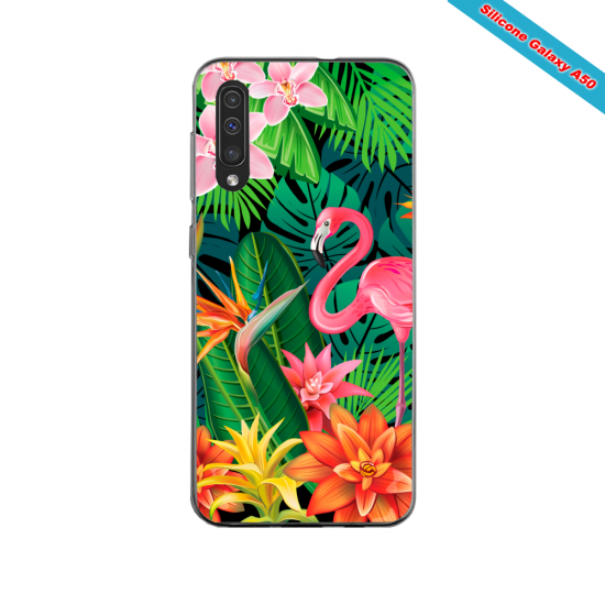 Coque silicone Galaxy A10S Fan de The Rolling Stones géometrics