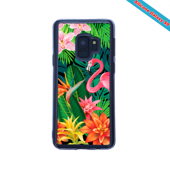 Coque silicone Huawei MATE 30 LITE Hibiscus rouge